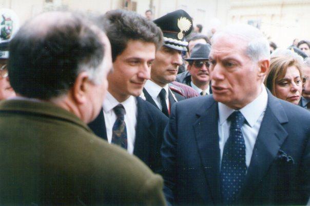 Il Capo dellla Polizia Parisi a Sant'Agata